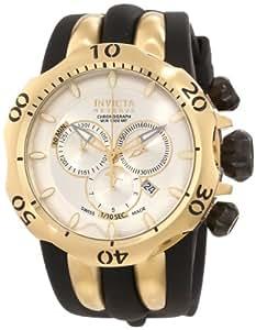 Invicta Men's 10834 Venom Reserve Chronograph Silver Dial Watch