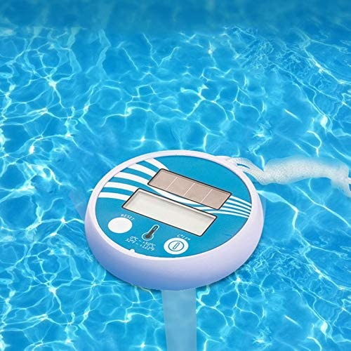 XProject 2 Pcs Solar Swimming Pool Thermometer Floating Swimming Pool Thermometer Shock Resistant for Swimming Pools