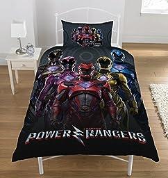Power Rangers Movie Single Duvet Set