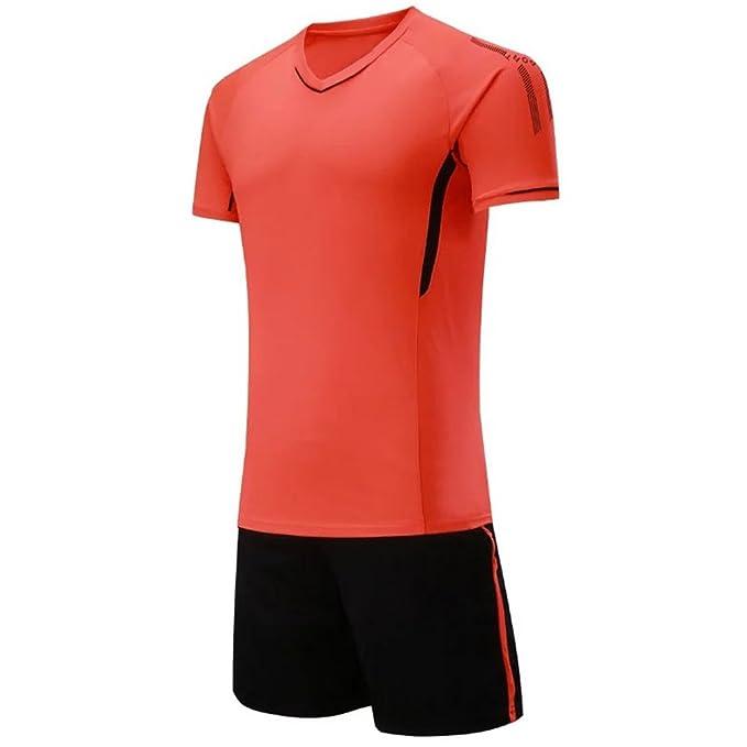 BOZEVON Kit de fútbol para Hombres y niños, Jersey de fútbol, Camiseta