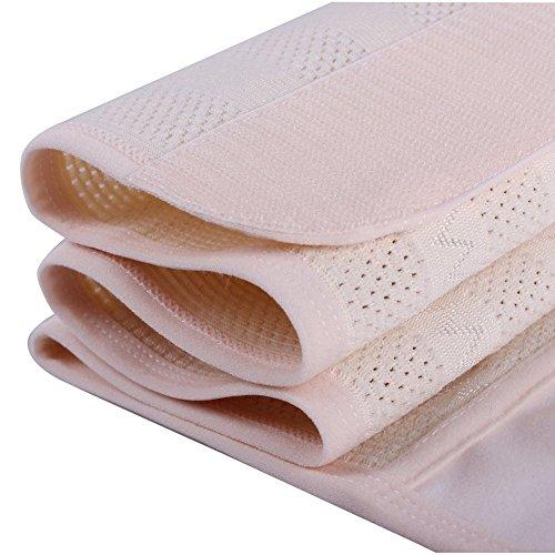 TININNA Neu Atmungsaktiv Elastisch Bauchband Bauchweg Bauch Weg Gürtel Taillenmieder Taillenformer Schlank Bauchweggürtel Band Bauchband XL