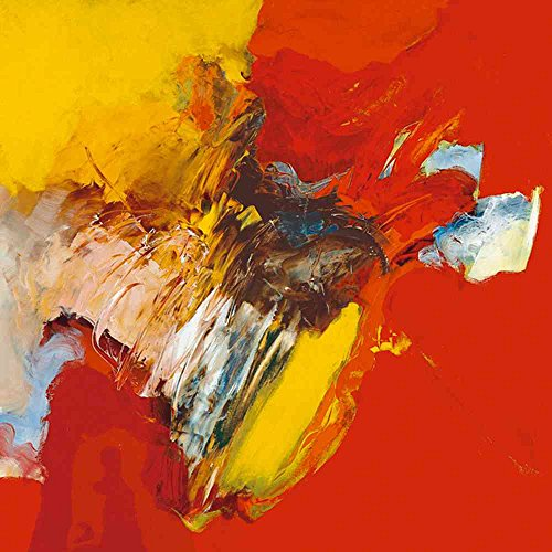 (kunst für alle Art Print/Poster: Pascal Magis Triptyque Rouge II Picture, Fine Art Poster, 23.6x23.6 inch / 60x60 cm)