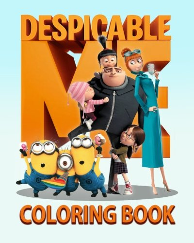 Despicable Me: Coloring Book 65 Illustrations For Young Kids Aged 3+