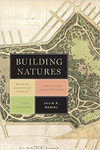 Amazon Com Building Natures Modern American Poetry