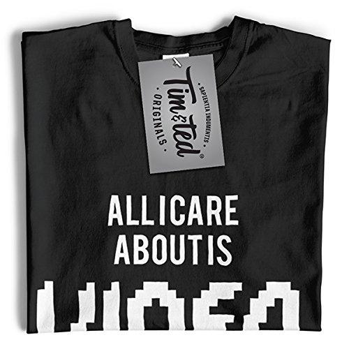 Gaming T-Shirt da Donna Tutti Mi Interessa è Giochi e Come 3 Persone Cool Divertente