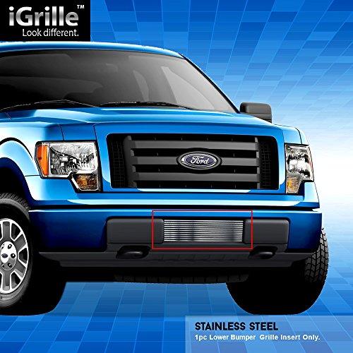 Off Roader Stainless Steel Egrille Billet Grille Grill For 2009 2014 Ford F 150 Bumper