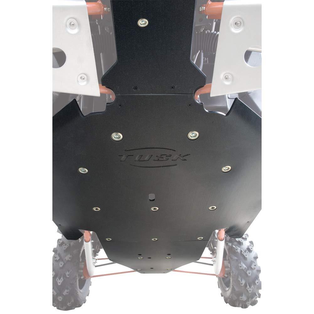POLARIS RZR XP 1000 2016–2019 (2 Seater) TUSK QUIET GLIDE UHMW Heavy Duty 3/8'' Thick Skid Plate