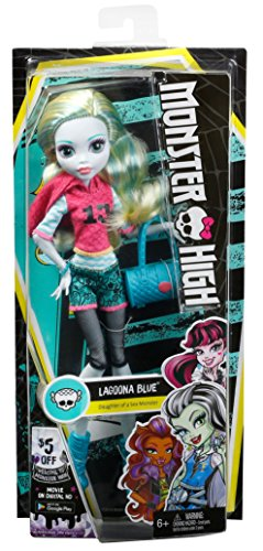 Monster High Signature Look Core Lagoona Blue Doll