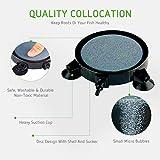 VIVOSUN 4 Inch Air Stone Disc with Shell and Sucker for Hydroponics Aquarium Tank Pump