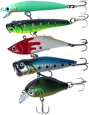 7x//Set Winter Fishing Lure Vib Fishing Ice Lure Soft fishing tackle Bait Wi T3E5