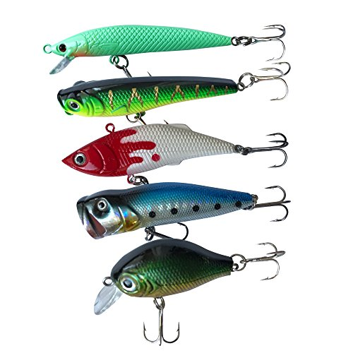 Bluenet 129pcs Fishing Lure Set ...
