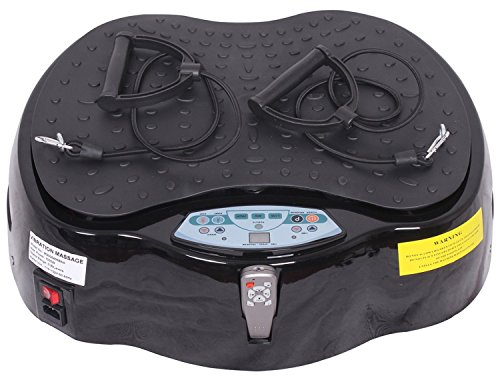 Merax 1000W Min Full Body Vibration Platform Exercise Machine Crazy Fit Massager
