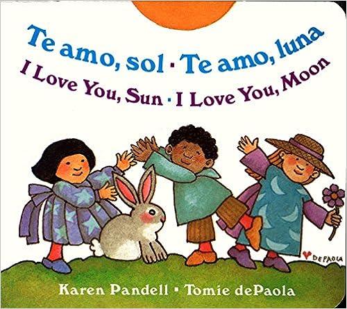 Te amo Luna Te amo Sol I Love You Sun I Love You Moon