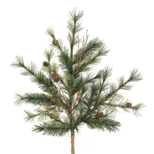 Mixed Tree Country Pinecones (Vickerman Mixed Country Pine spray with Real Pine Cones, Grapevines & 27 tips, 24