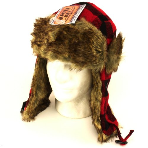 6263810a Dakota Dan Trooper Ear Flap Cap w/ Faux Fur Lining Hat - Buy Online in  Oman. | Sporting Goods Products in Oman - See Prices, Reviews and Free  Delivery in ...