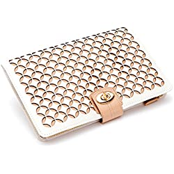 WOLF 301353 Chloe Jewelry Portfolio, Cream, Gold