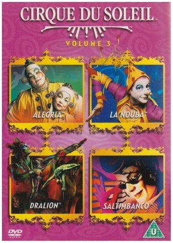 Cirque Du Soleil: Vol. 3 - Allegria / La Nouba / Dralion / Saltimbanco [DVD] (1994-2003) by Ebon Grayman B01I074FEG