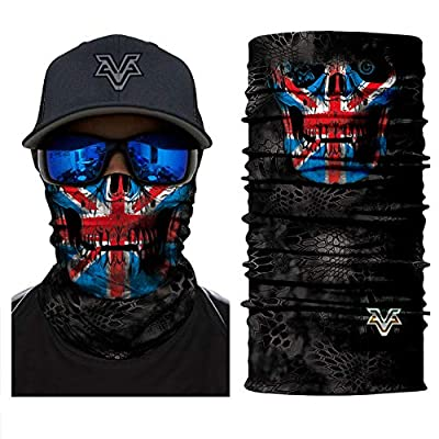 Vcoros Monster Skull Snake Style Bike Cycling Face Mask Motorcycle Racing Headwear (PL180418): Automotive
