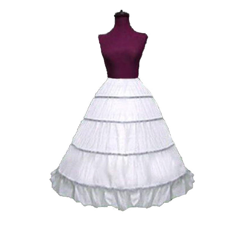 Victorian Hoop Skirt, Petticoat, Underwear SACAS Adjustable 4 Bone Hoop Skirt Super Full Civil War Skirt slip $28.98 AT vintagedancer.com