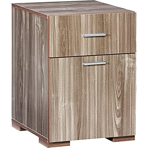 modern wood file cabinet. Comfort Products Modern 2 Drawer Lateral File Cabinet, Walnut Wood Cabinet