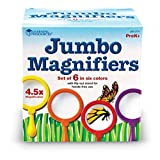 Learning Resources Set of 6 Jumbo Magnifiers