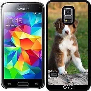 Funda para Samsung Galaxy S5 Mini - Lindo Cachorro De Pastor Australiano by Katho Menden