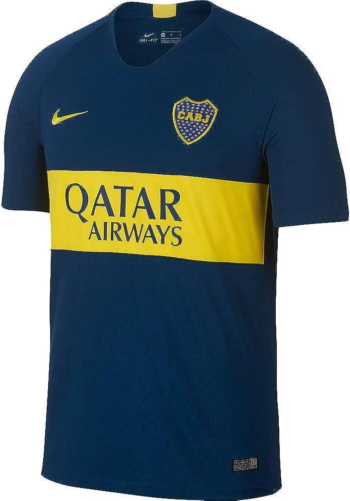 Nike Boca Juniors Stadium Home Soccer Jersey 2018 19