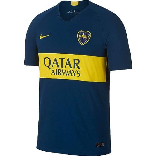 7e7be0e74 Amazon.com | Nike Boca Juniors Stadium Home Soccer Jersey 2018/19 | Road  Running