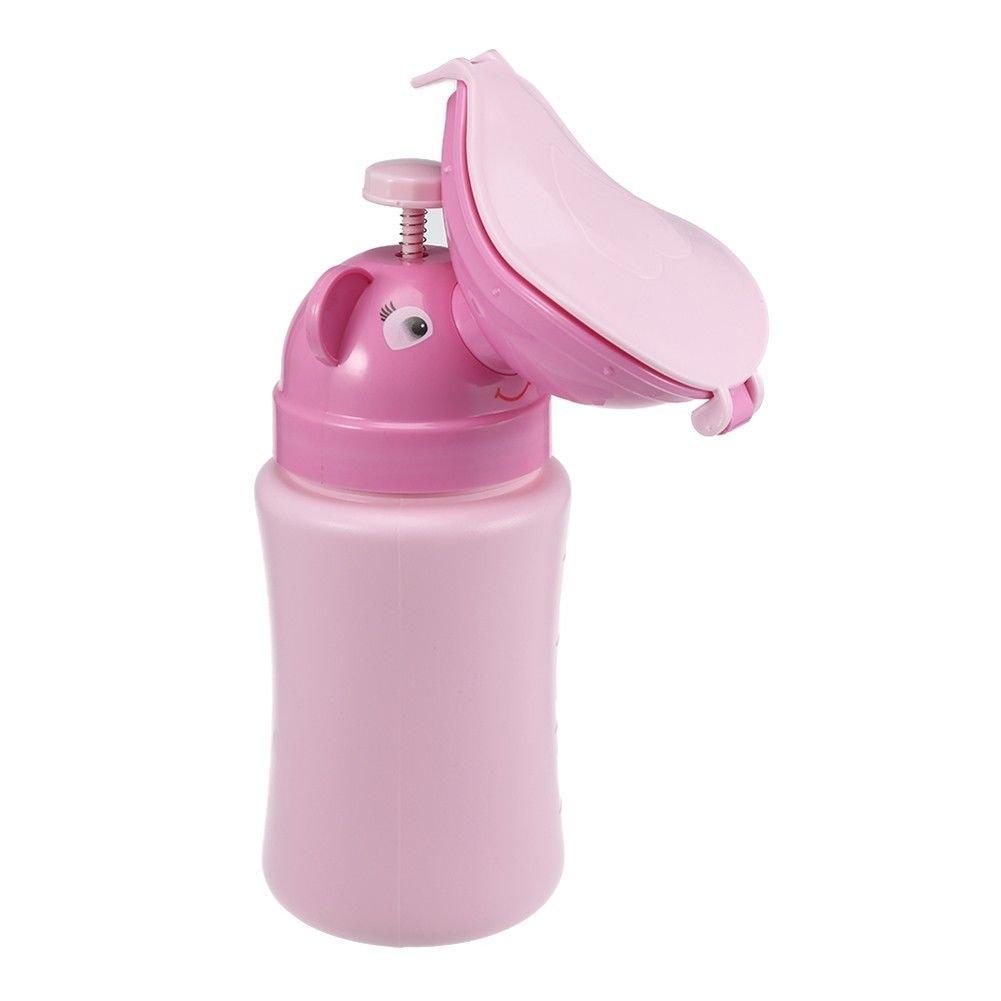 Tragbare Reise Wc Dichtheit Design YWXJY Unisex Notfall T/öpfchen Urinal Auto Wc Baby Kinder Kind Kleine Urinal Pee Flasche F/ür Outdoor Camping Wandern Gr/ün 500 ML