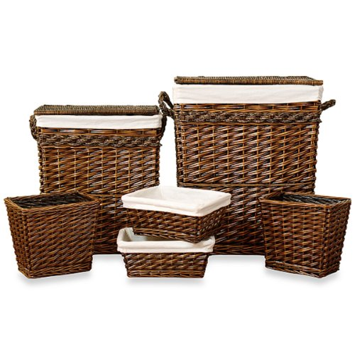 Classic Set of Weston 6-piece Hamper by AitraHome