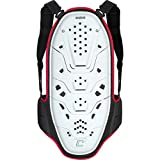 Cortech Latigo Adult Back Protector Body Armor - White/Red/Black / Large/X-Large