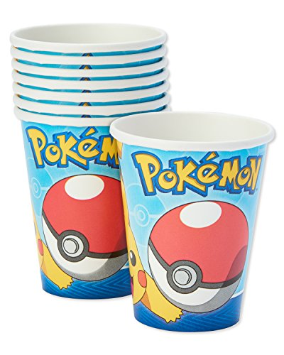 American Greetings Pokemon Paper Party Cups, 32-Count, Paper Cups by American Greetings (Image #1)