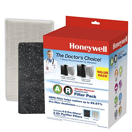 Honeywell HRF-ARVP True HEPA Filter Value Combo Pack, White ()