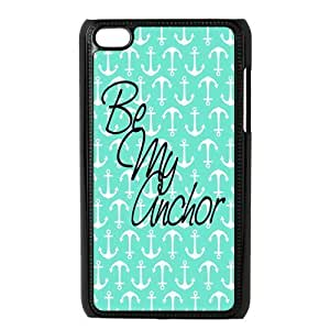 Custom Anchor Back Cover Case for ipod Touch 4 JNIPOD4-493