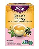 Yogi Tea, Woman's Energy, 16 Count (Pack of 6), Packaging May Vary