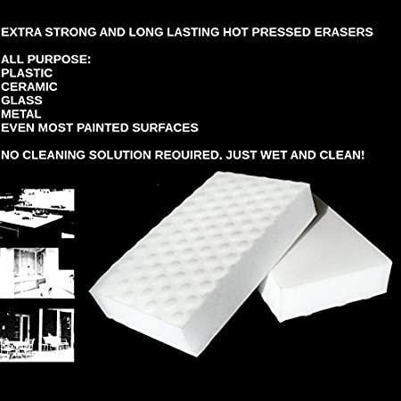 EXTRA STRENGTH Value Deal ALL PURPOSE MAGIC SPONGE CLEANERS ERASER PADS LONG LASTING WHITE 30 XS Eraser Pack