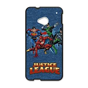 Justice League Heroes HTC One M7 Cell Phone Case Black Pretty Present zhm004_5939236