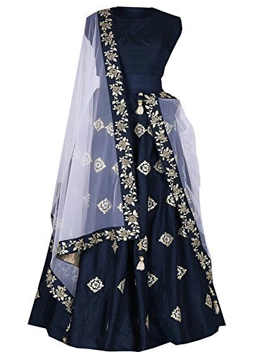 MR Fashion gowns for women party wear (lehenga choli for wedding function salwar suits for women gowns for girls party wear collection 2017 new design dress for girls designer lehnga new collection to at amazon