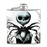 6oz - The Nightmare Before Christmas Characters Liquor Hip Flask Stainless Steel FK-0688