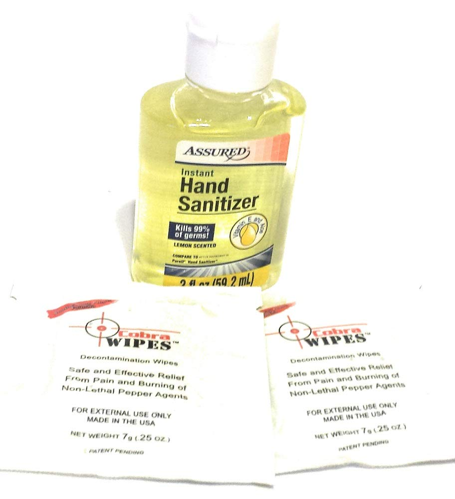 Instant Hand Sanitizer with Moisturizers 2 Oz Travel Size - Packaging May Vary (Pack of 24) (Lemon)