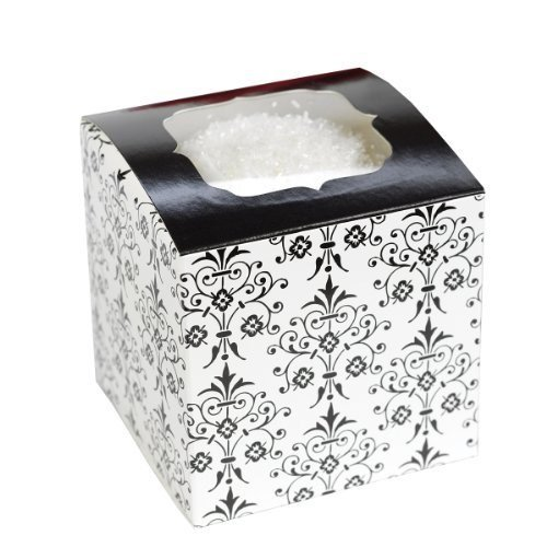 Hortense B. Hewitt Wedding Accessories Cupcake Boxes, Filigree, Pack of -