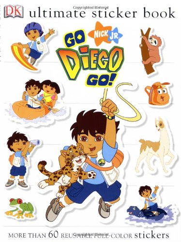 Download Ultimate Sticker Book Go Diego Go Ultimate Sticker