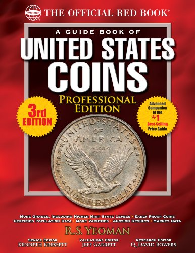 - The Official Red Book: A Guide Book of United States Coins, Professional Edition