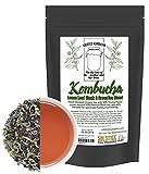 : Kombucha Loose Leaf Black and Green Tea Blend, 120 Servings, Hand Blended 4-Ounces Keemun Black & 4-Ounces China Young Hyson Green Tea for Brewing Kombucha (8-Ounces Total)