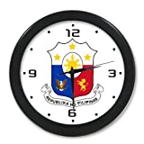 Flag of the Philippines Wall Clock-9.65
