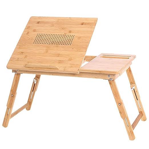 YZjk Mesa Plegable/Mesa para portátil/Mesa Plegable para Cama/Mesa ...