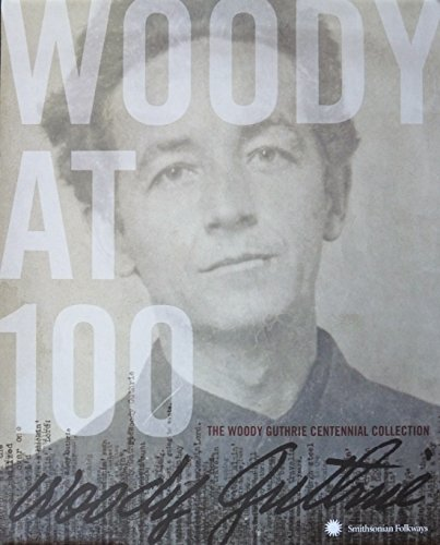 Woody Guthrie - Smithsonian Folkways Centennial Collection - Rare Advertising Poster