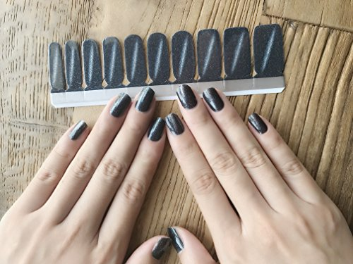 SION Nail Art Transfer Decals Sticker DIY Nail Polish Strips,Nail Wraps, Nail Patch, 100% Real Nail polish applique for Manicure, Wedding, Party,S604 Drop Scene ()