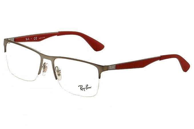 Ray-Ban 0RX63352620 (56 mm) Gafas de Sol, Matte Gunmetal, 56 ...