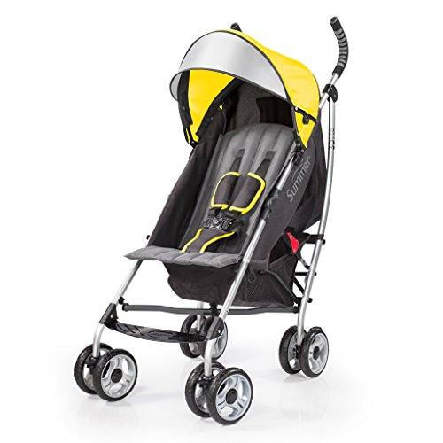 Summer Infant 3Dlite Convenience Stroller, Citrus Baby Citrus Basket